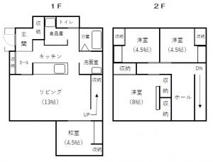 宮川3-9-24 間取図